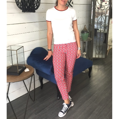 Pantalon Rose des Vents DISCONTINUE