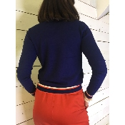 Pull Navy Sport Chic DISCONTINUE