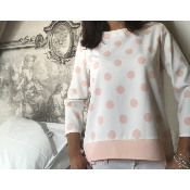 Blouse Pink Dots